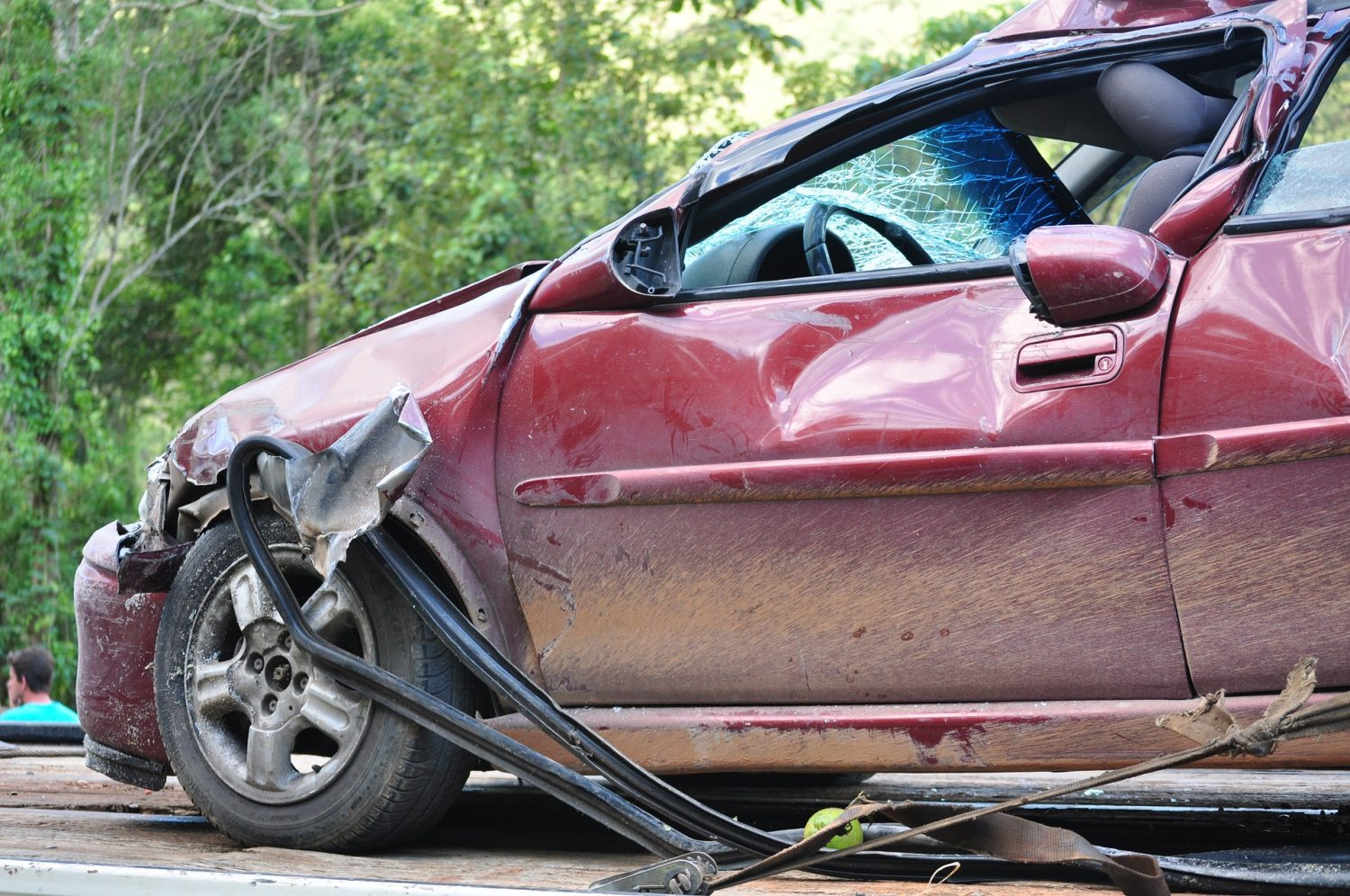 Shell Beach, CA - Four Injured in Six-Vehicle Crash on Highway 101