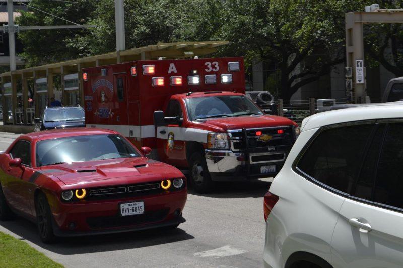 Los Angeles CA- Pickup and Sedan Crash on Highway 60 Near Grand Ave.