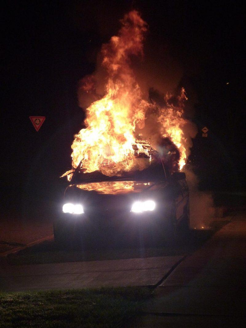 Fiery Crash in Fresno