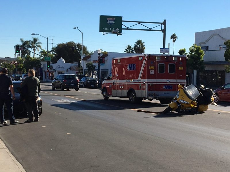 Corey Haggerty Long Beach Motorcycle Accident Lakewood Boulevard and